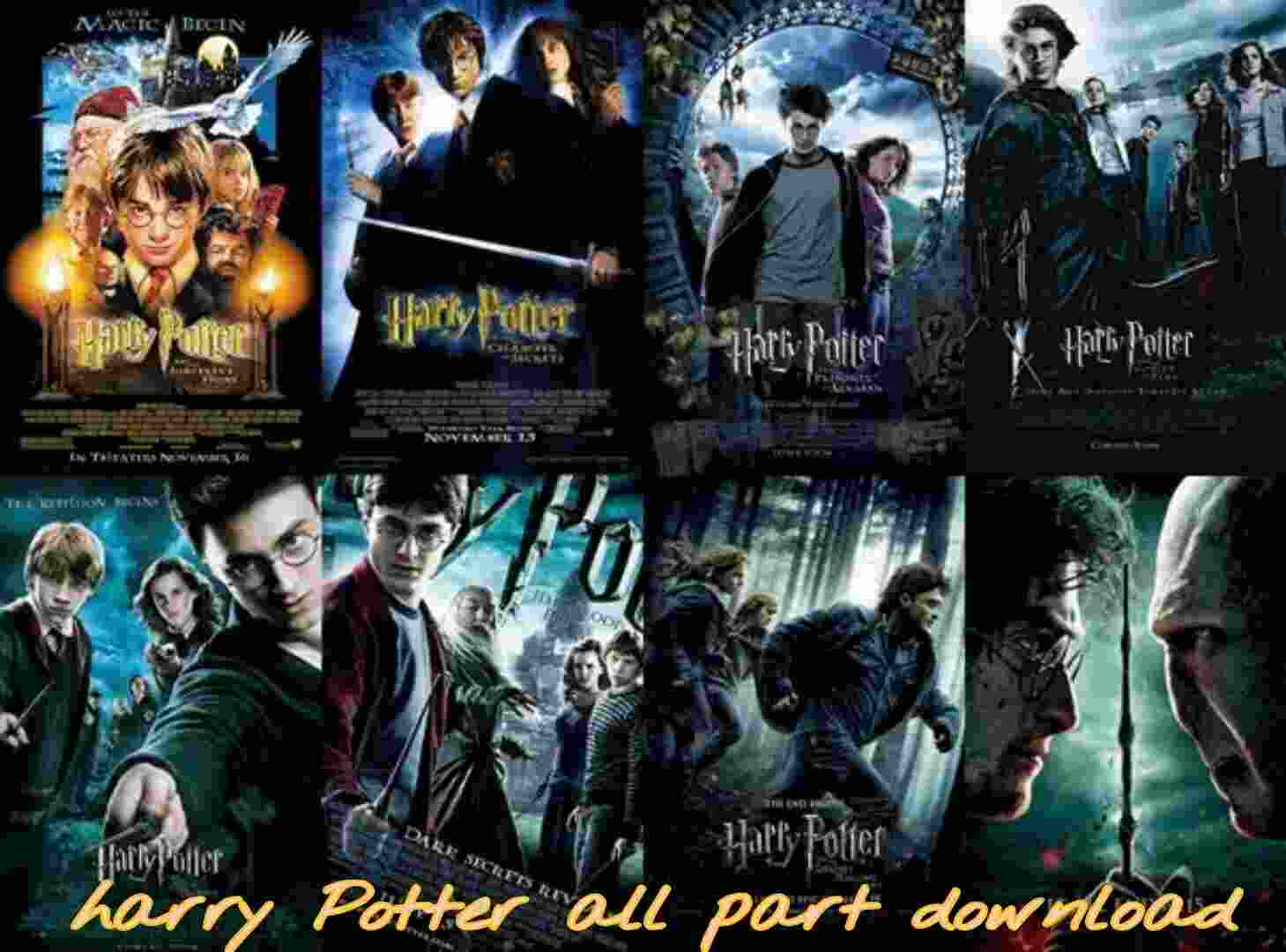 Harry Potter movies Download, harry potter series